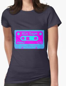 Psychedelic Mix Tape - Cyan and Magenta T-Shirt