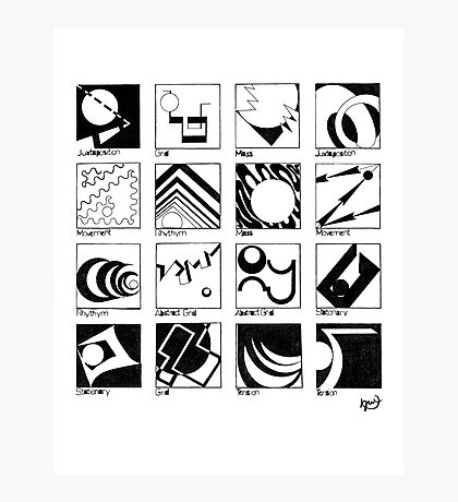 Shaping Language Photographic Print