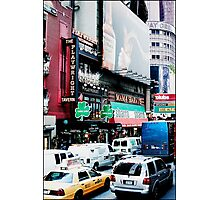 Busy on Broadway Photographic Print