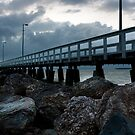 Wellington Point Pier by timothyn