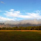 Somerset West mountains by fourthangel