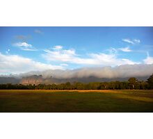 Somerset West mountains Photographic Print