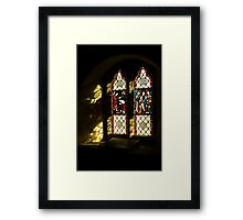 Windows and Shadows Framed Print