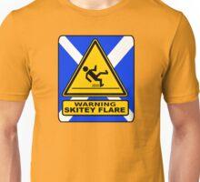 WARNING - SKITEY FLAIR Unisex T-Shirt