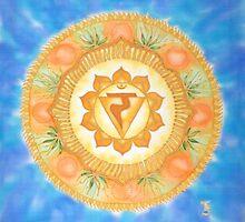 Manipura - the solar plexus chakra by FionaStolze