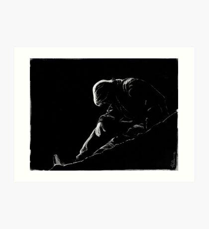 Sam Carter - Death Knell Art Print