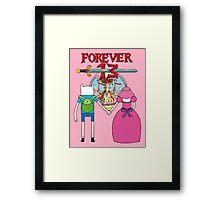 Forever 13 - Adventure Time Framed Print