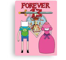 Forever 13 - Adventure Time Canvas Print