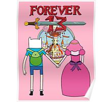 Forever 13 - Adventure Time Poster