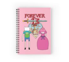 Forever 13 - Adventure Time Spiral Notebook
