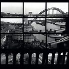 Tyne Bridge Montage by Mike Atherford