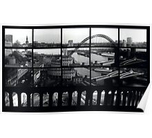 Tyne Bridge Montage Poster