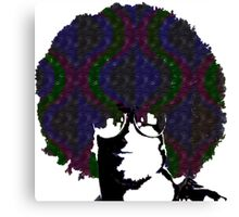 Psychedelic Dude Canvas Print