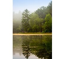 Foggy Morning Landscape Photographic Print