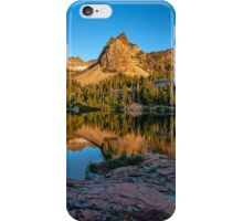 Lake Blanche at sunset iPhone Case/Skin