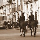 Horsing around in Catania by Christine Oakley