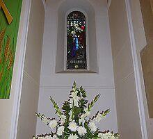 Katie's Christening Flowers by Fara