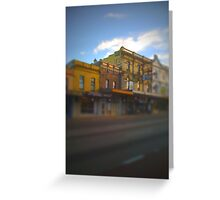 KB cold gold Greeting Card