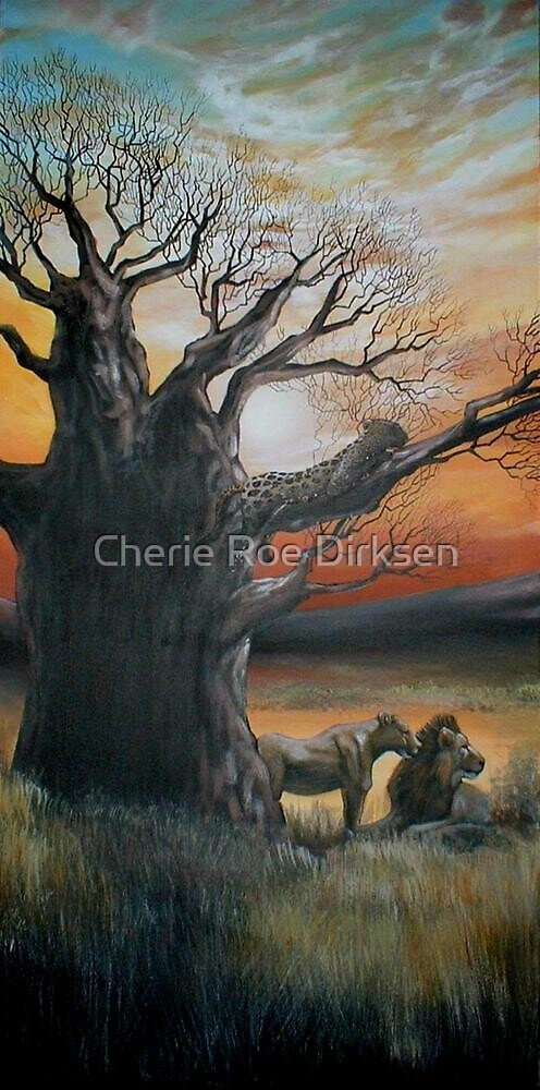 Congregating at the Baobab by Cherie Roe Dirksen
