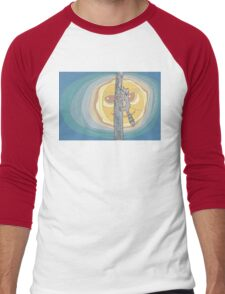 Raccoon Moon Men's Baseball ¾ T-Shirt