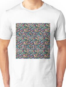 Vintage Floral Pattern/Background Unisex T-Shirt