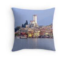 Malcesine Throw Pillow