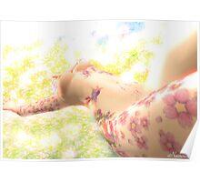 Bath of Light Poster