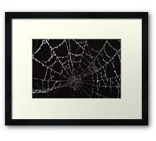 """Dripping with diamonds"" Framed Print"