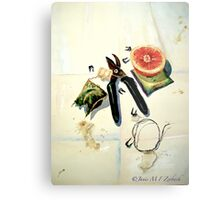 Still Life with Picture Wire Metal Print