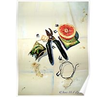 Still Life with Picture Wire Poster