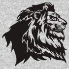 Proud Tribal Lion by Ine Spee