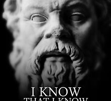 I know that I know nothing - Socrates by GodsAutopsy