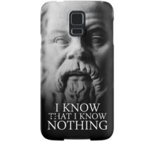 I know that I know nothing - Socrates Samsung Galaxy Case/Skin