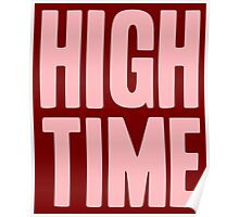 Pageant Material: High Time [Song Title] Poster