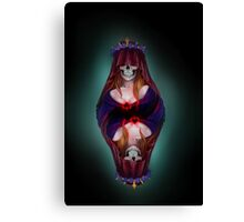 The Queen of Spades Canvas Print
