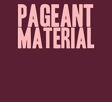 Pageant Material: Pageant Material [Song Title] Womens Fitted T-Shirt