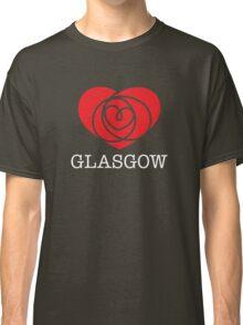 I Heart Glasgow, Scotland Classic T-Shirt