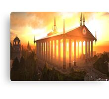 Elven Temple Canvas Print