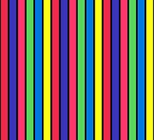 stripe winter on black by REVAD CODED-IMAGES