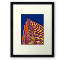 Park Hill Popart Part 3 of 6 Framed Print