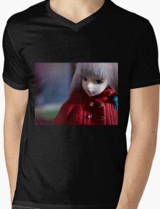J-Doll Mens V-Neck T-Shirt