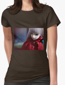 J-Doll Womens Fitted T-Shirt