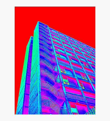 Parkhill popart (part 4 of 6) Photographic Print