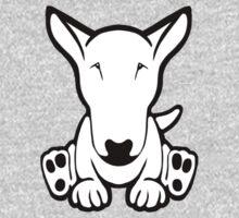 English Bull Terrier Strange Sit  Baby Tee