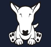 English Bull Terrier Strange Sit  One Piece - Short Sleeve