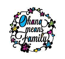 Ohana means Family by christymcnutt