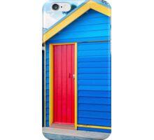 Bathing houses at Brighton Beach, Australia iPhone Case/Skin