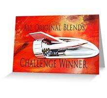 All Original Blends Challenge Winner Greeting Card