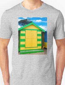 Bathing houses at Brighton Beach, Australia T-Shirt