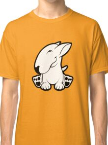 Side Sit English Bull Terrier  Classic T-Shirt